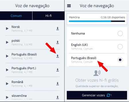 Here Maps em português para Android