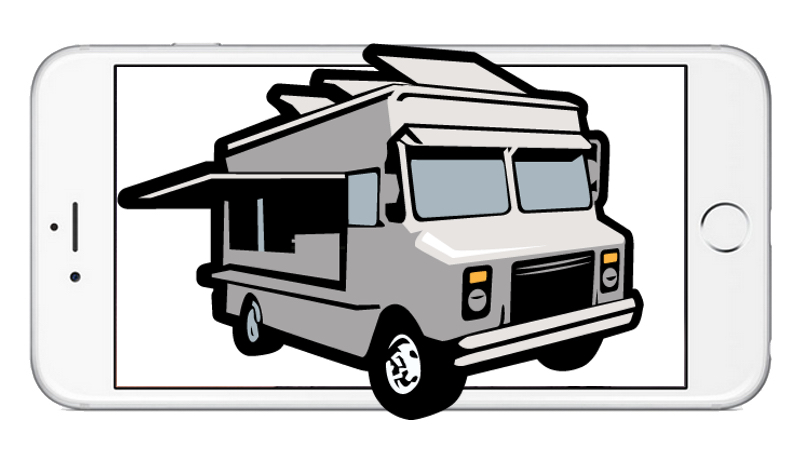 Aplicativos para encontrar food trucks