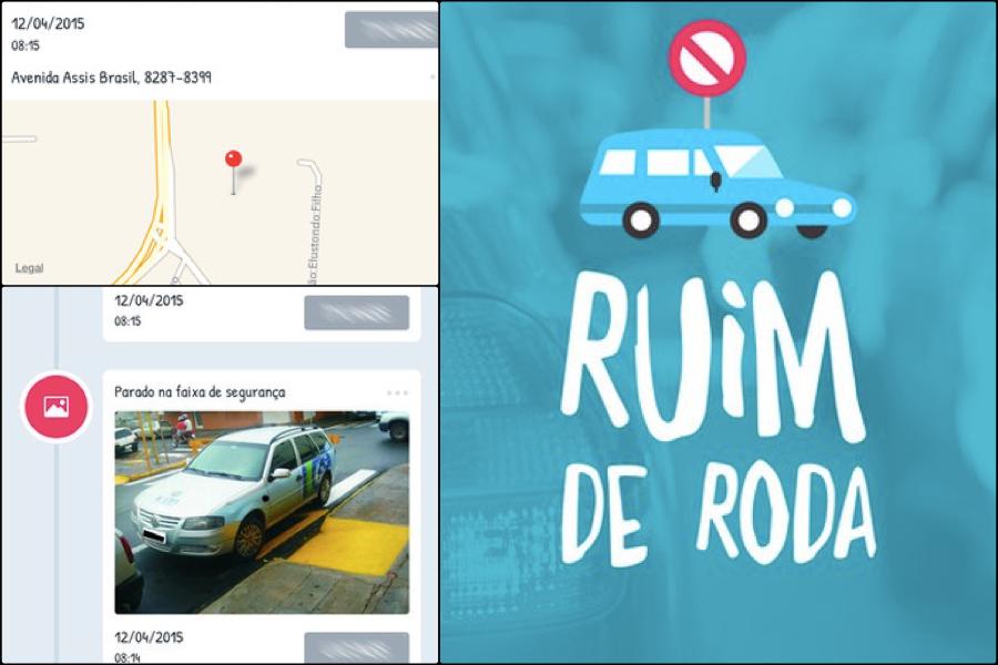 Ajude a denunciar os maus motoristas de sua cidade