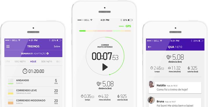 Sourun - Aplicativo para corrida com treinadores reais