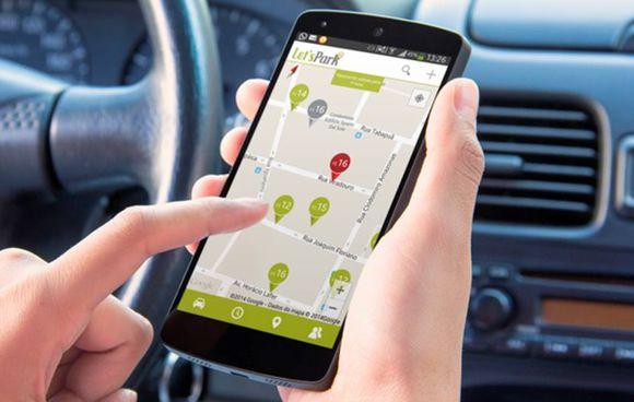 LetsPark - Aplicativo para encontrar estacionamentos