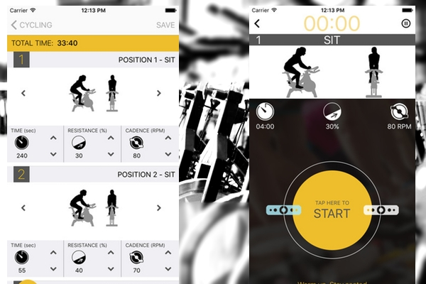Cycling Workout Plus - Aplicativo para prática de spinning