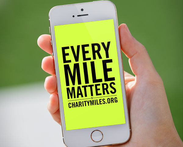 Charity Miles - Aplicativo doa dinheiro para ONGs por seus exercícios