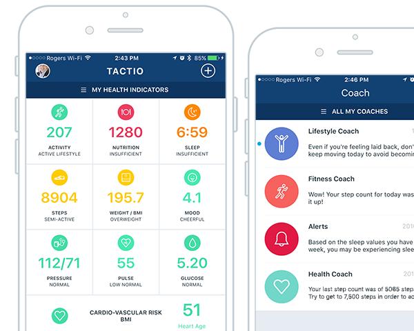 TactioSaúde - Aplicativo para analisar dados de saúde