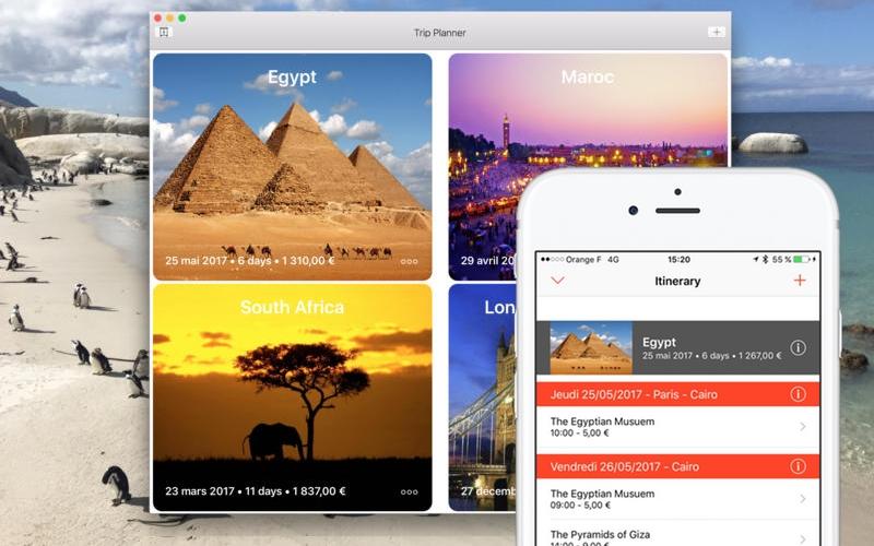 TripPlanner - Aplicativo/programa para organizar viagens