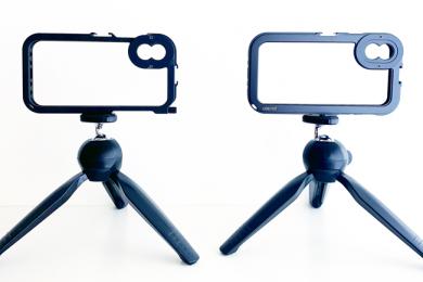 Ulanzi Video Cage I (esquerda) e II (direita)