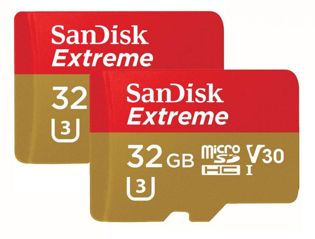 SanDisk Extreme MicroSDHC