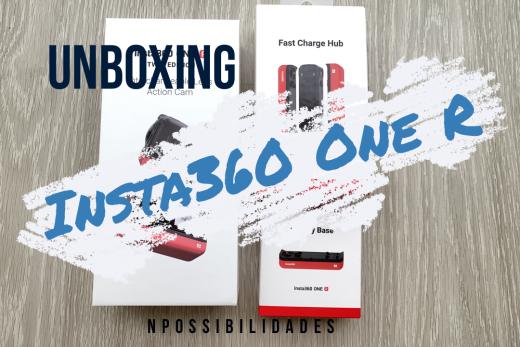 Unboxing da Insta360 One R