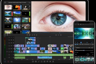 Curso gratuito de LumaFusion - Editor profissional de vídeo para iPads