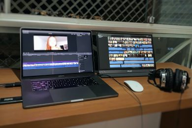 Monitor portátil Asus ZenScreen – Uma boa opção para editores de vídeo?