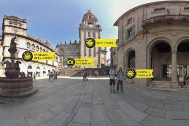 Caminho de Santiago em 360º