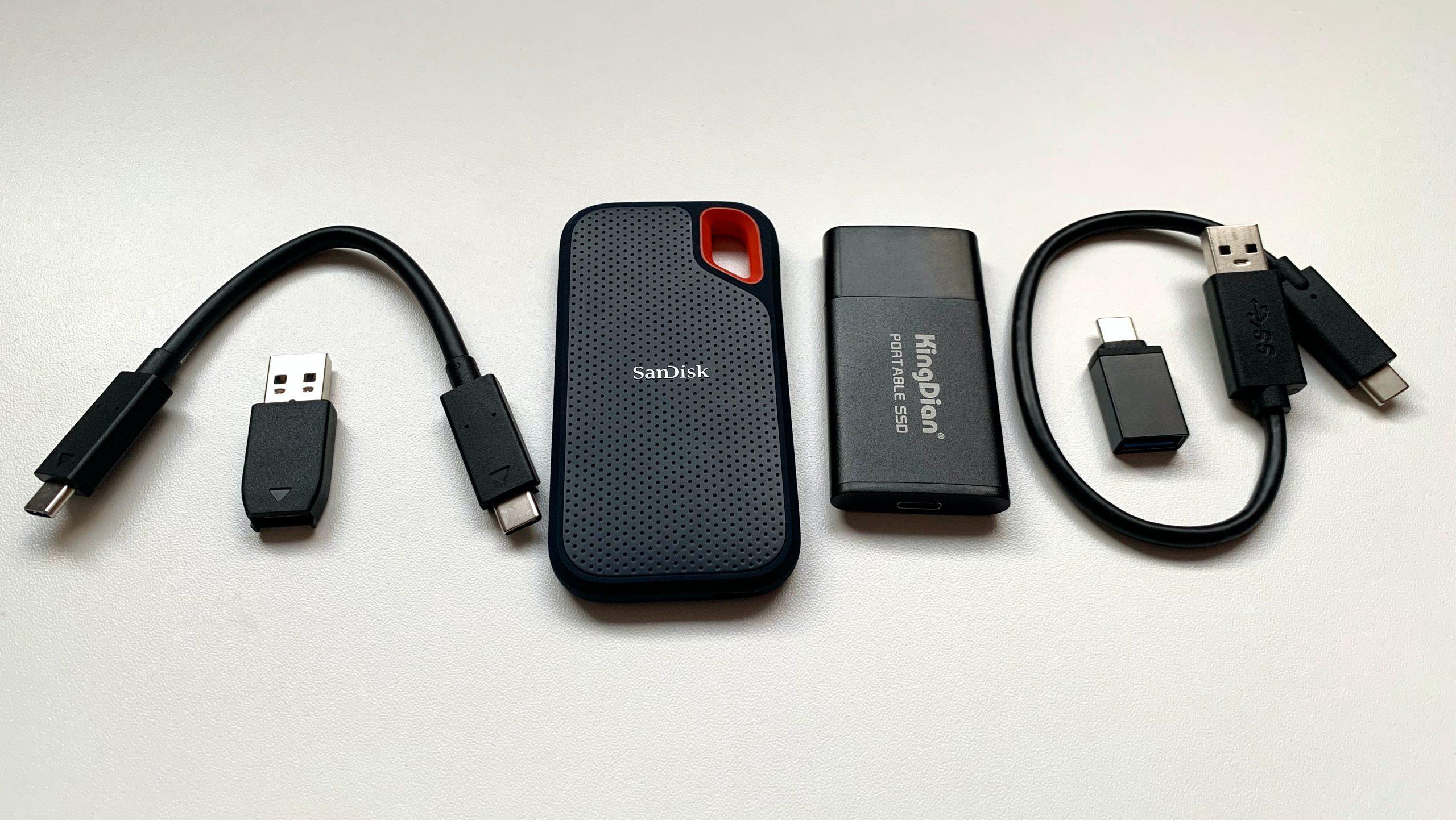 Extreme Portable SSD x Portable P10