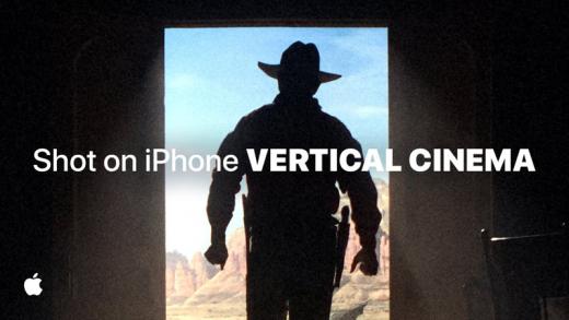Apple divulga filme gravado no iPhone em modo vertical