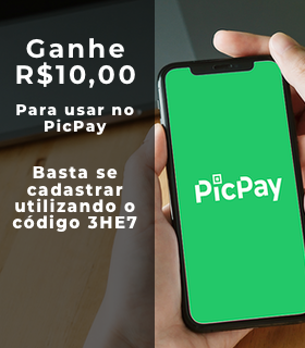 Vem ganhar R$10 de crédito no PicPay