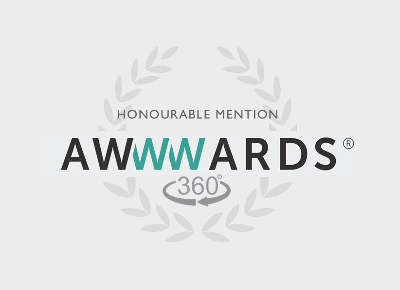 Awwwards - Sites com uso de 360º