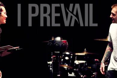 Produção de um videoclipe em 360º – I Prevail
