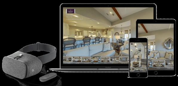 Edição e hospedagem de tours virtuais
