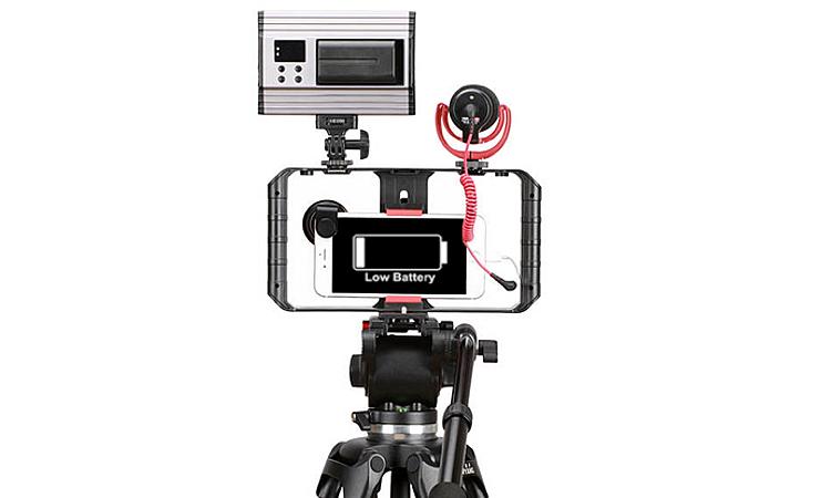 A importância de baterias extras para videomakers