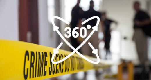 Projeto utiliza 360º para estudos de investigação criminal