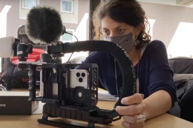 TVs francesas aderindo aos smartphones como câmeras
