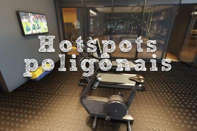 Hotspots poligonais - Um grande diferencial em tours 360º profissionais